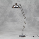 Chrome Extra Large Classic Floor Lamp