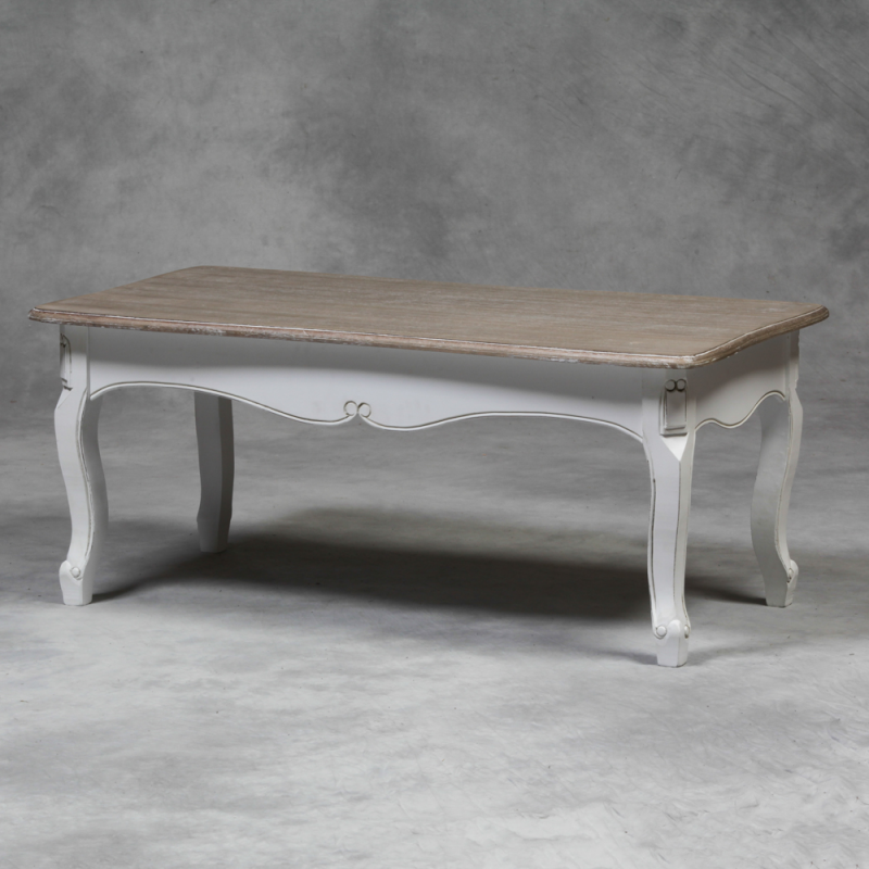 FURNITURE COFFEE TABLES Rustic French Farmhouse White Coffee Table