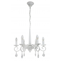 Antoinette 6 Light Antique White Ceiling Light