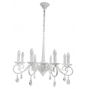 Antoinette 8 Light Antique White Ceiling Light