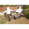 Port Royal Brown Rattan Classic Sofa Lounge Garden Set