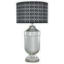 Monochrome Geometric Statement lamp