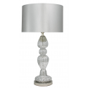 Silver Mercury Lamp With Silver Shade