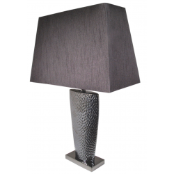 Pewter Grey Large Bahama Table Lamp