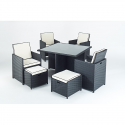 Port Royal Prestige Cube Rattan Garden Set