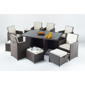 Port Royal Prestige Cube Rattan 6 seater set