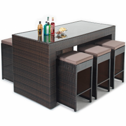 Port Royal Luxe 6 Seater Bar Set