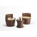 Port Royal Classic Stackable 2 Chair Garden Set