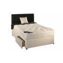 Delux Divan Bed With Mattress - Various Sizes