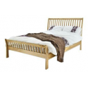 French Style Pink Wooden Bed Frame Forever Furnishings