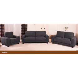Emma Slate Grey Fabric Sofa