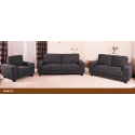 Venus Slate Grey Fabric Sofa