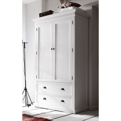 Whitehaven Painted Double Wardrobe