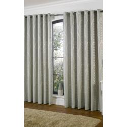 Dakota Duckegg and Ivory Curtains