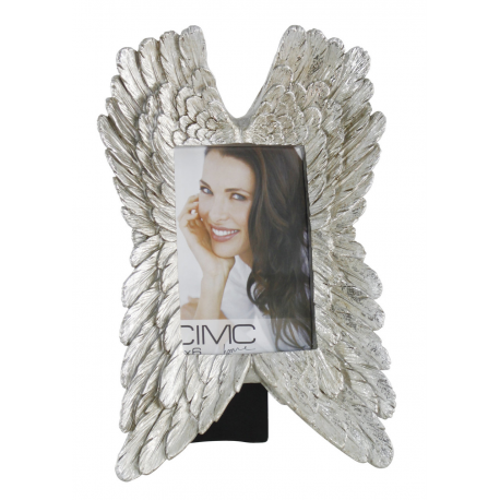 Angel Wings Photo Frame- Silver