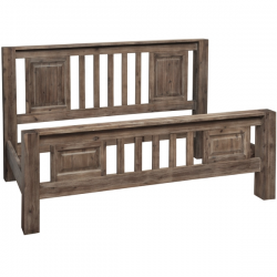 Havana Solid Wood Super king Bed