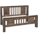 Havana Solid Wood Super king Bed