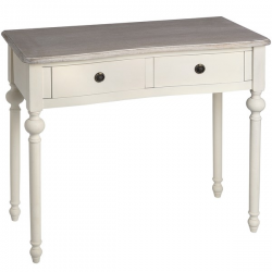 Homestead Ivory 2 Drawer Console Table