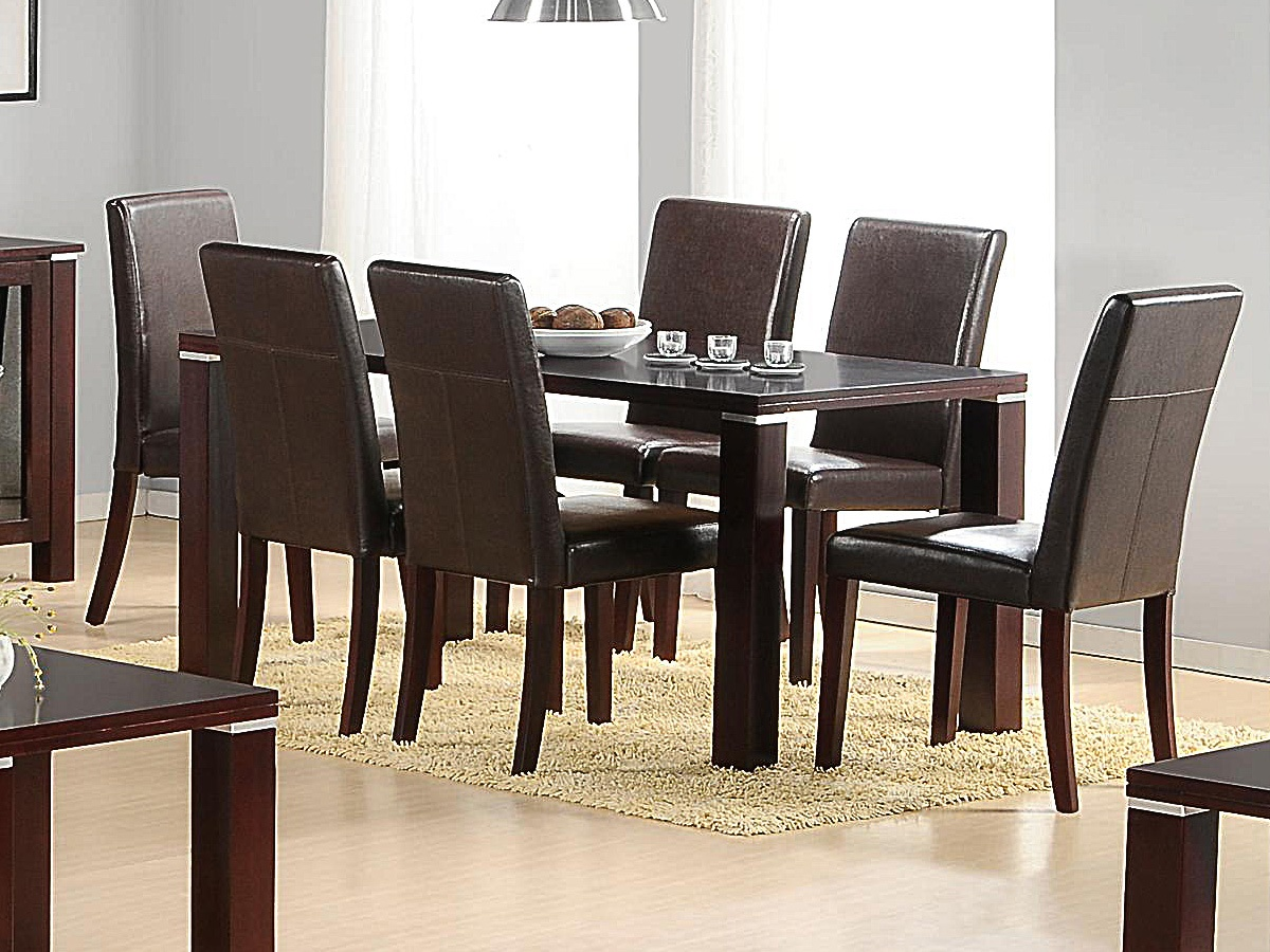 Amazing Spartan Dining Table And 6 Chairs Onthecornerstone Fun Painted Chair Ideas Images Onthecornerstoneorg