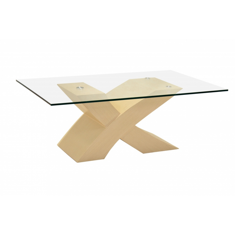Arizona Beech Cross Coffee Table Forever Furnishings