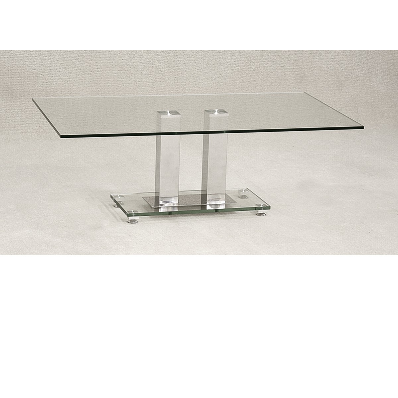 Ankara Rectangular Glass Coffee Table Forever Furnishings
