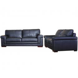 Enna Leather 3 + 2 Seater Sofa Set (Various Colours)
