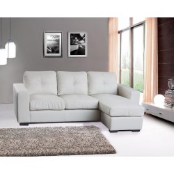 Diego Leather Corner Sofa
